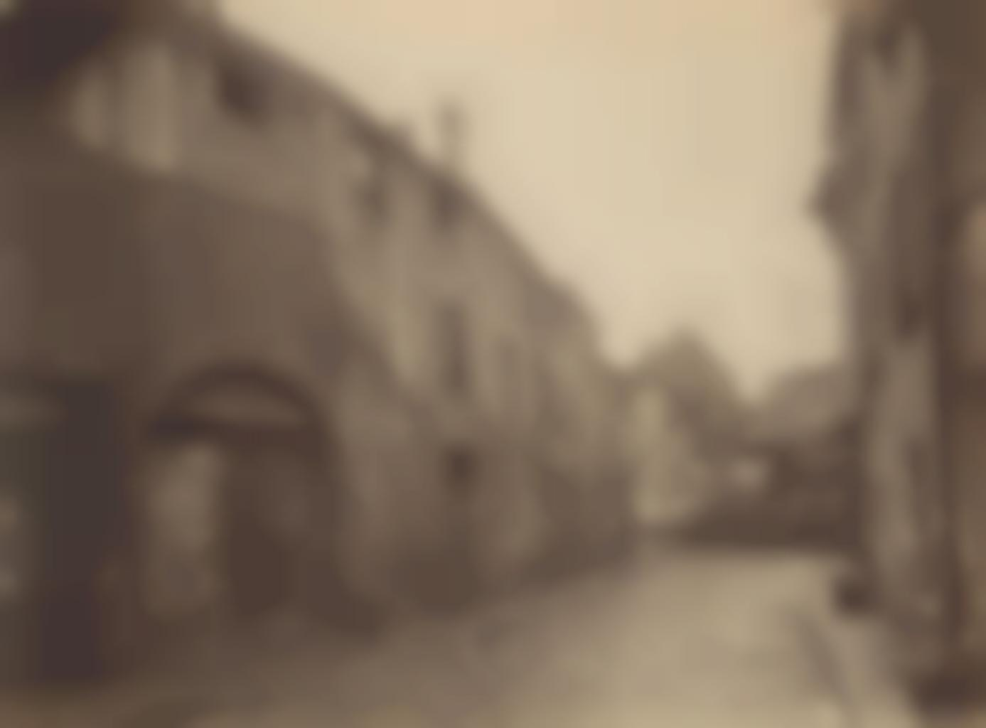 Eugene Atget-Vanves, vieille rue-1920