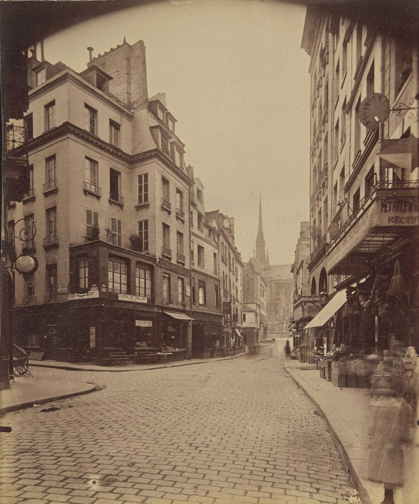 Eugene Atget-Place Maubert, Paris-1899