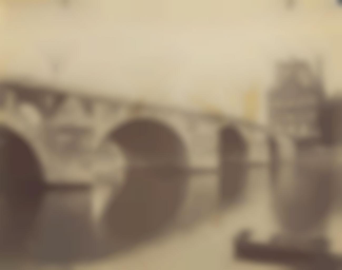 Eugene Atget-Pont Royal, Paris-1900
