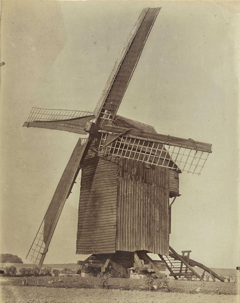 Eugene Atget-Moulin (Somme)-1899