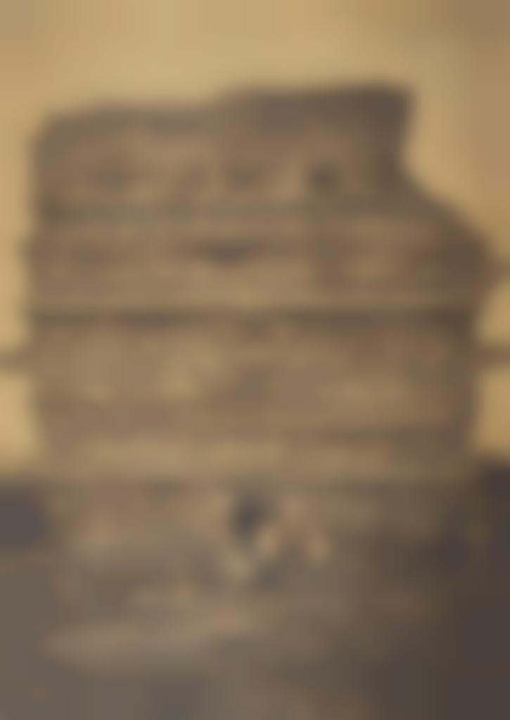 Alfred Percival Maudslay-Chichen Itza, Casa de Monjas, vue de l'ouest, Mexique-1889