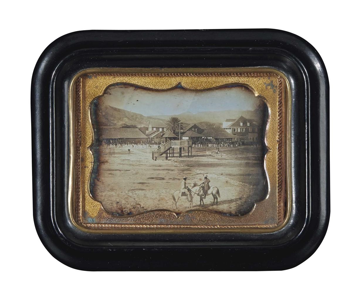 Photographer Unknown - Sans titre (Parade ground)-1860