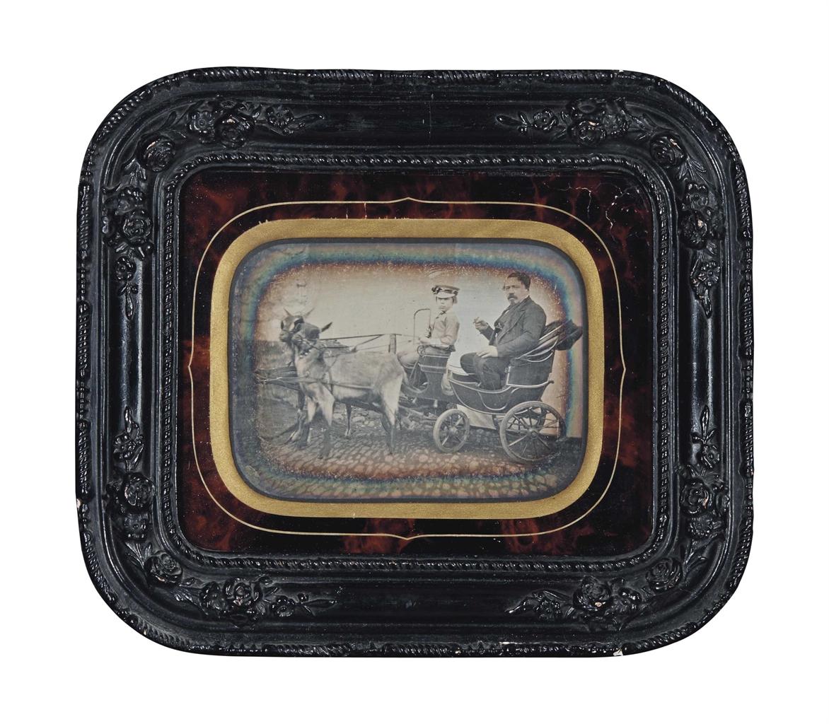 Photographer Unknown - W.J. Montulet Gregoire a l'age de 30 ans, l'annee de son mariage, Verviers-1852