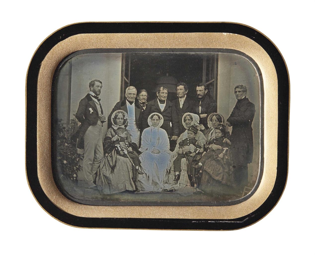 Jean-Gabriel Eynard-Autoportrait avec la famille Delessert-1850