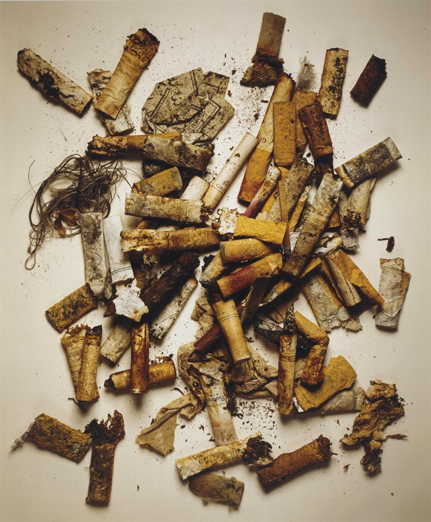 Irving Penn-Cigarettes, Street Findings, New York, August 11th-1999