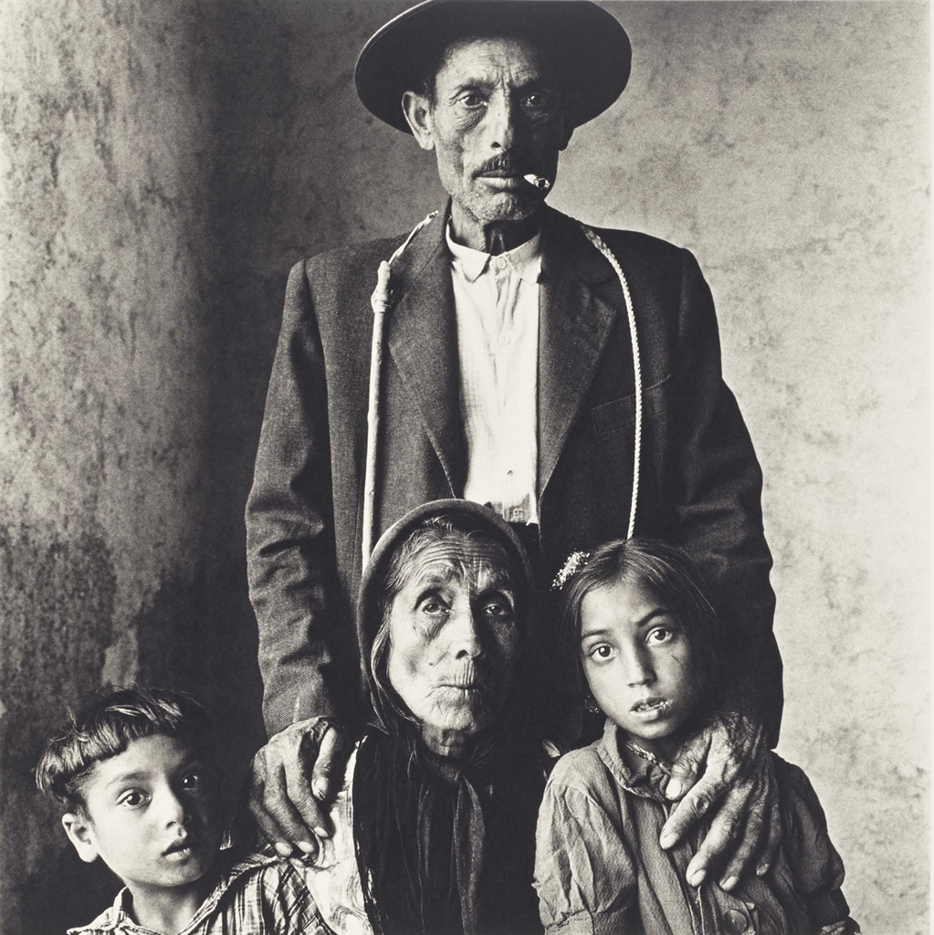 Irving Penn-Gypsy Family-1966