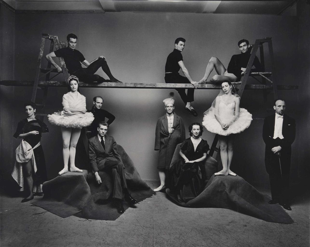 Irving Penn-Ballet Theatre, November 21-1974