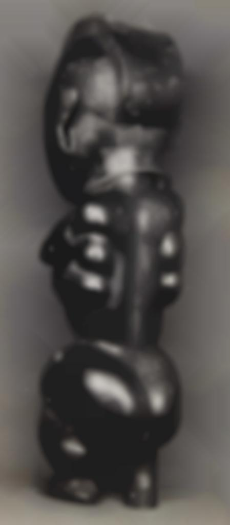 Walker Evans-Sculpture africaine-1935