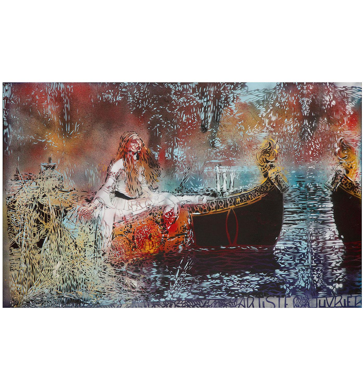 Artiste Ouvrier-Lady Of Shalott-2015