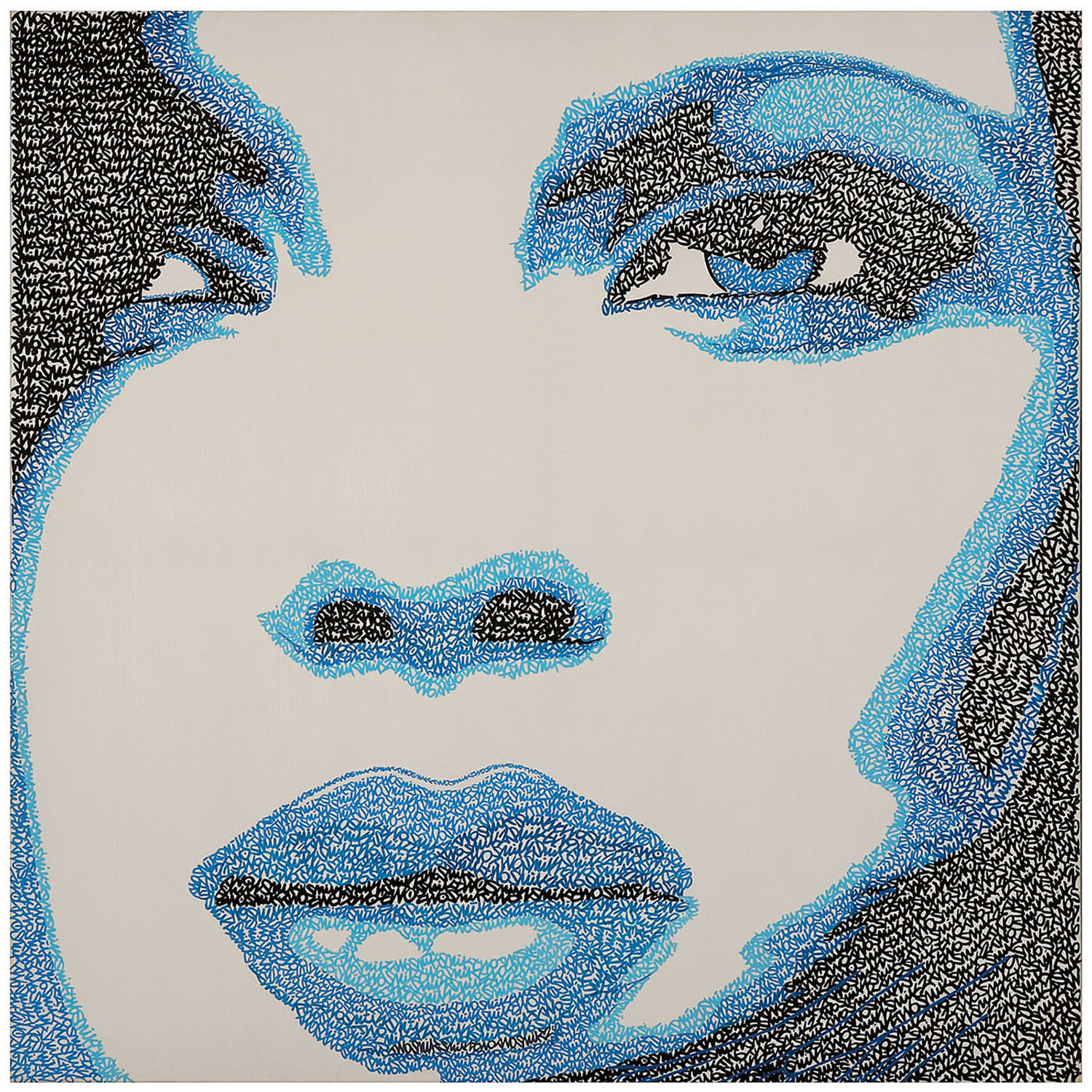 SnikTwo-Blue Girl-2012