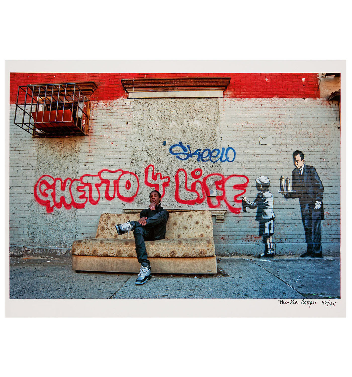 Martha Cooper-Ghetto For Life-