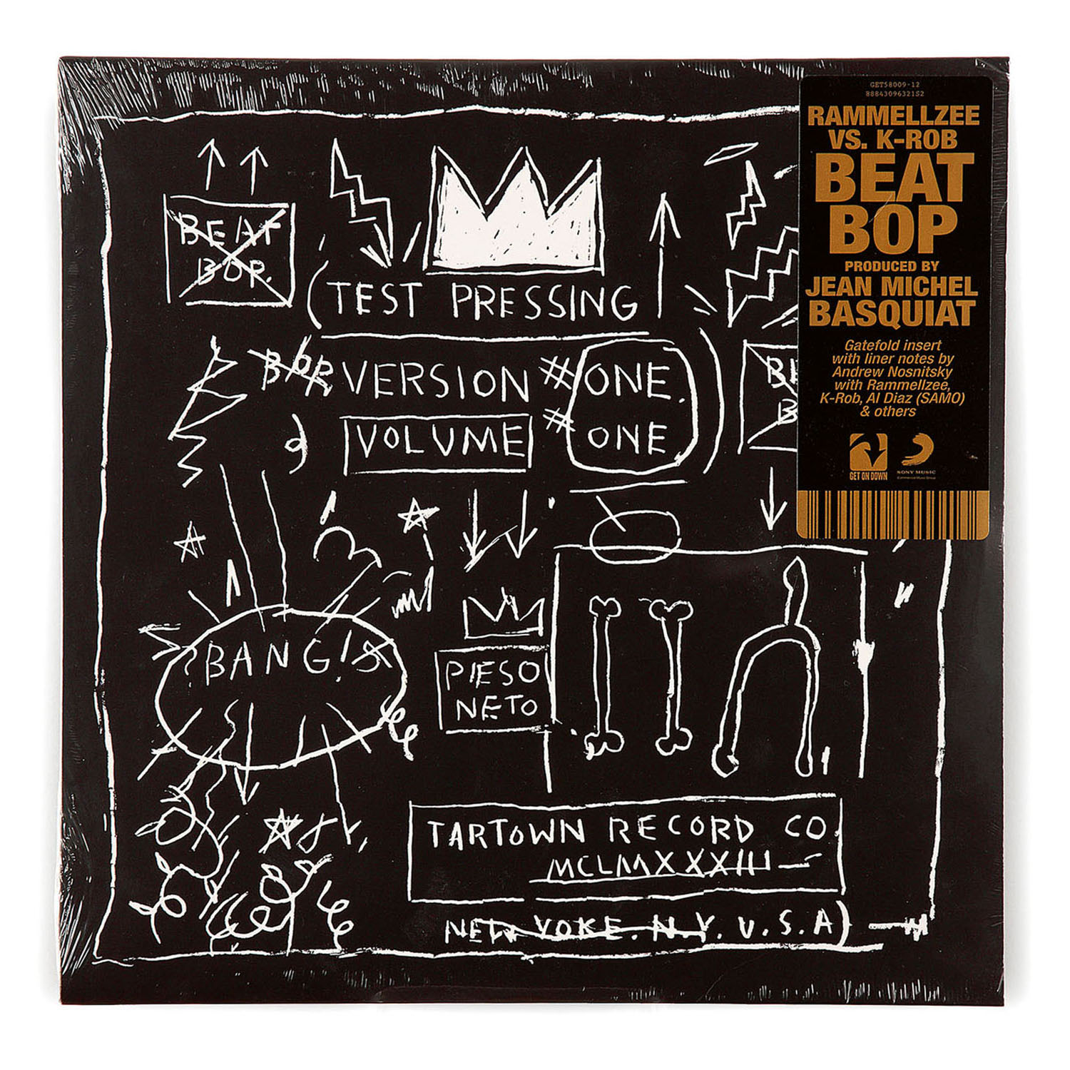 Jean-Michel Basquiat-Rammelzee And K-Rob / Beat Bop-2014