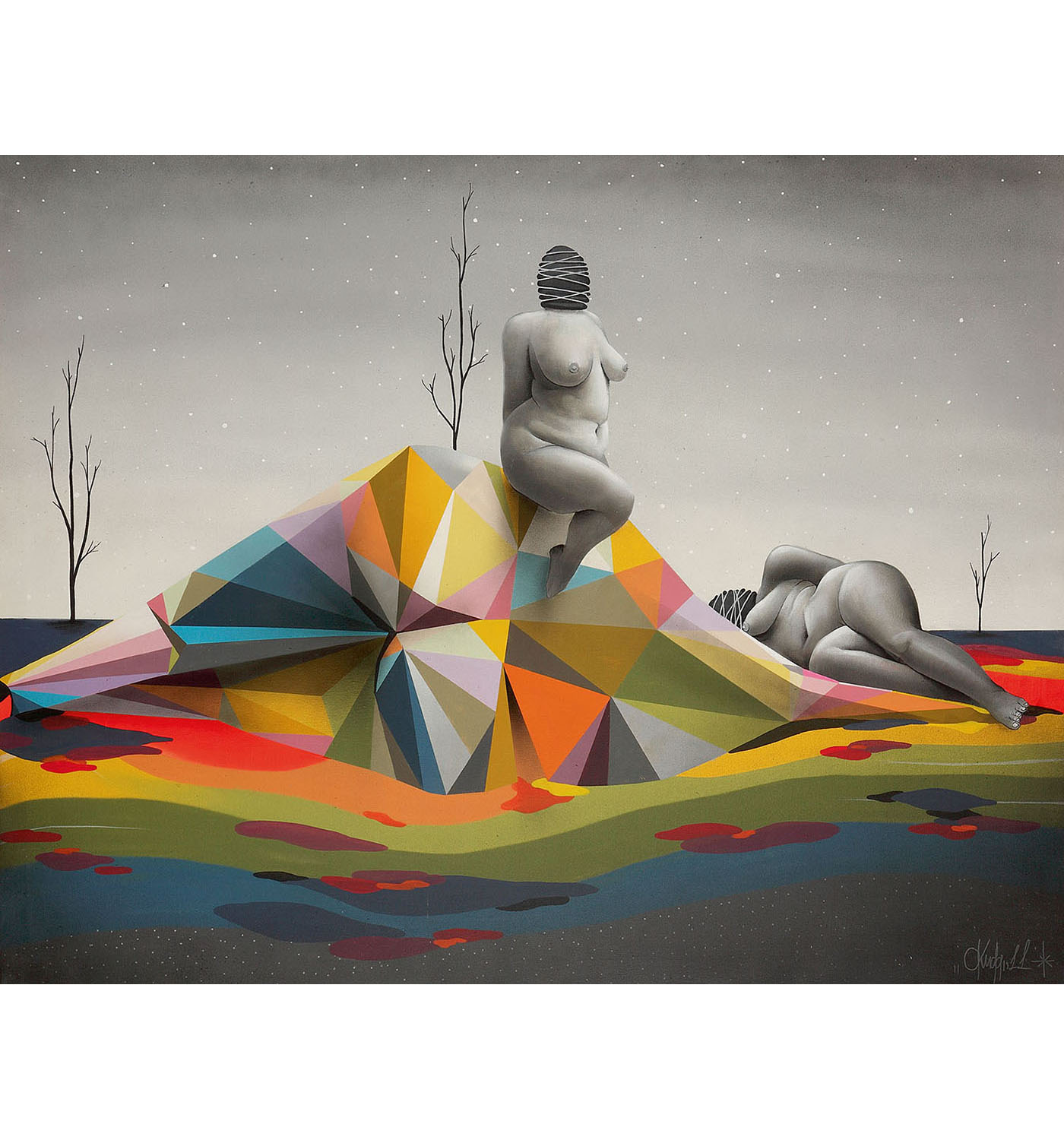 Okuda San Miguel-Lost In Themselves-2011