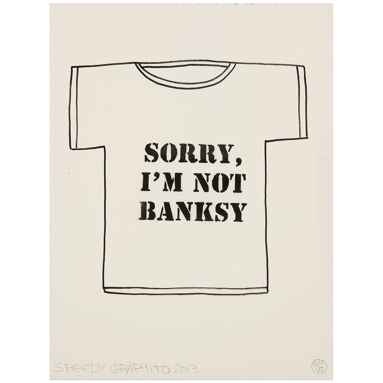 Speedy Graphito-Sorry I'M Not Banksy-2013
