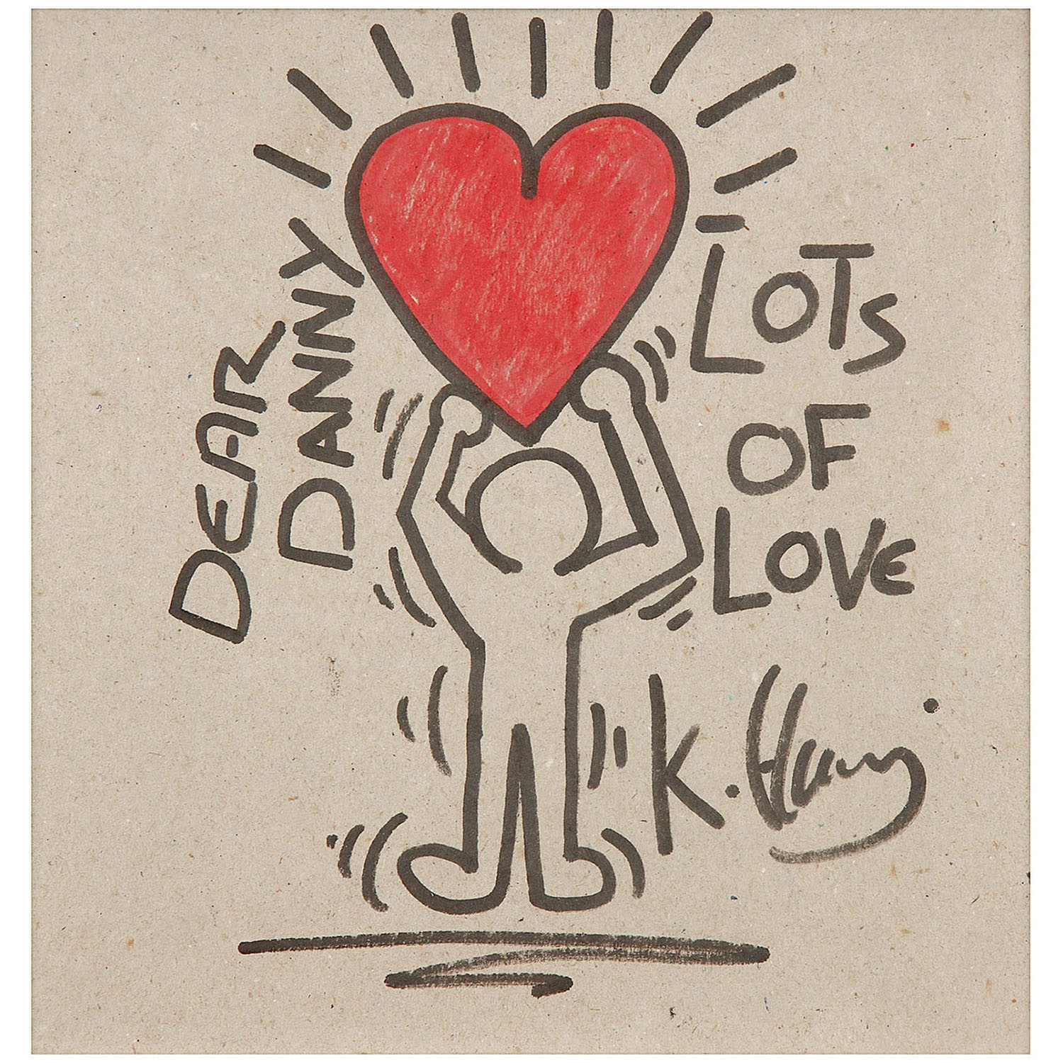 Keith Haring-Sans Titre-