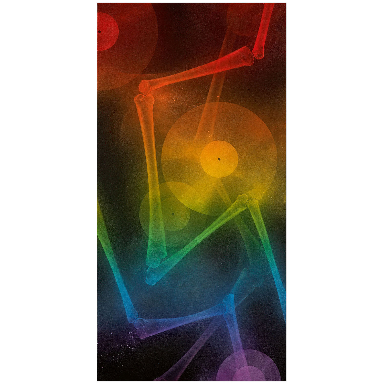 SHOK-1-X-Rainbow (Abstract With Vinyl)-