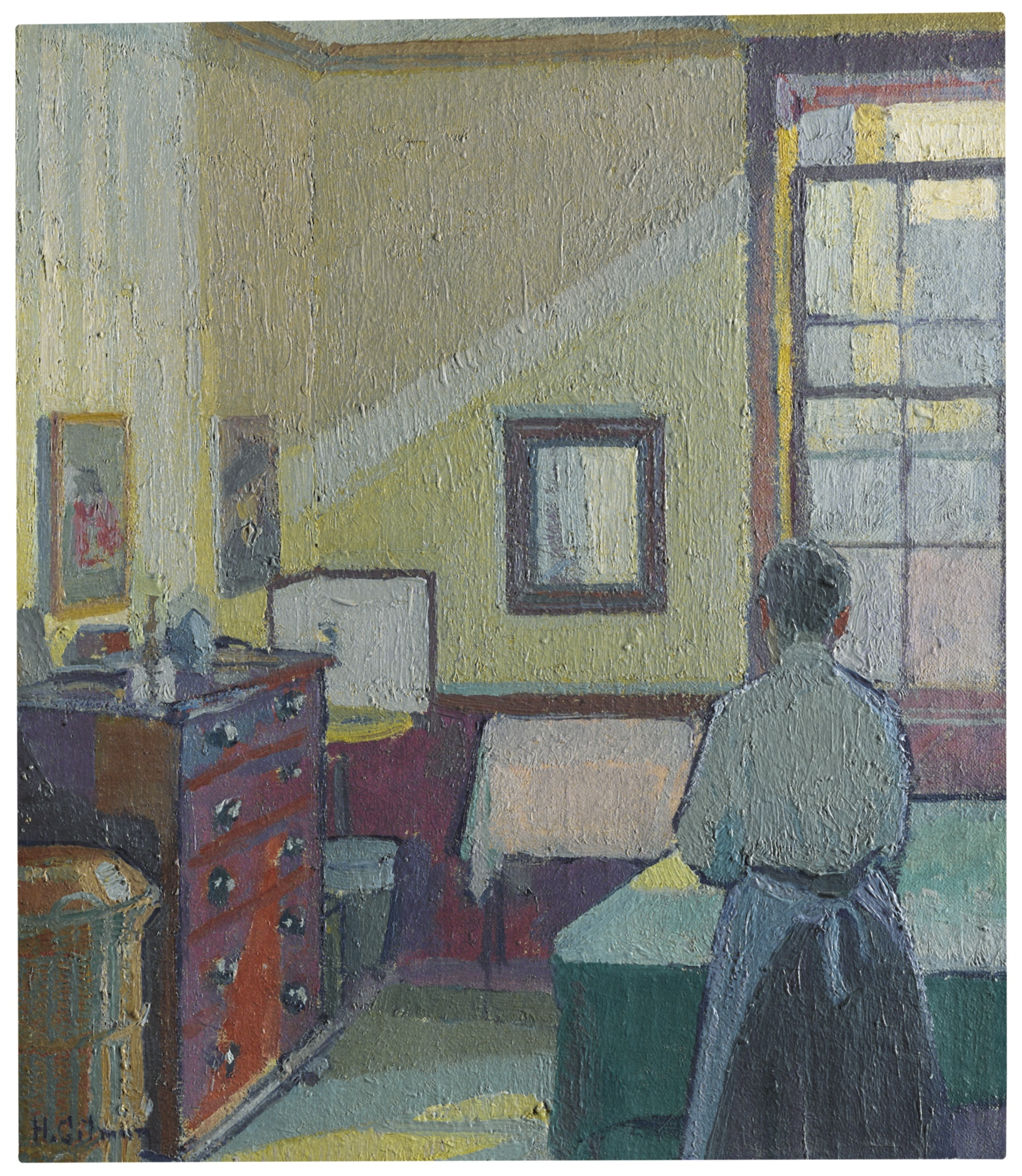 Harold Gilman-Interior (Mrs Mounter)-1917
