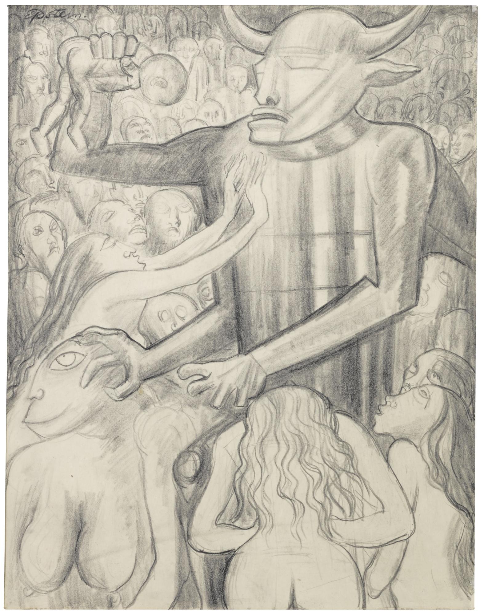 Jacob Epstein-Les Fleurs Du Mal - Hymne ALa Beaute-1938