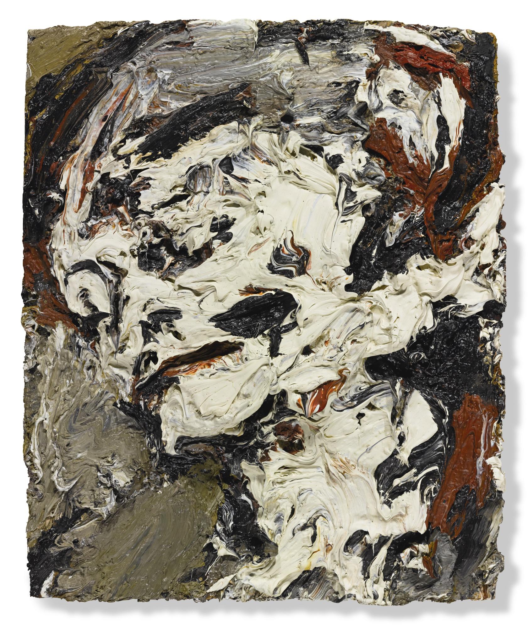 Frank Auerbach-Head Of Gerda Boehm-1965
