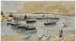 Winifred Nicholson-St Ives Harbour-1928