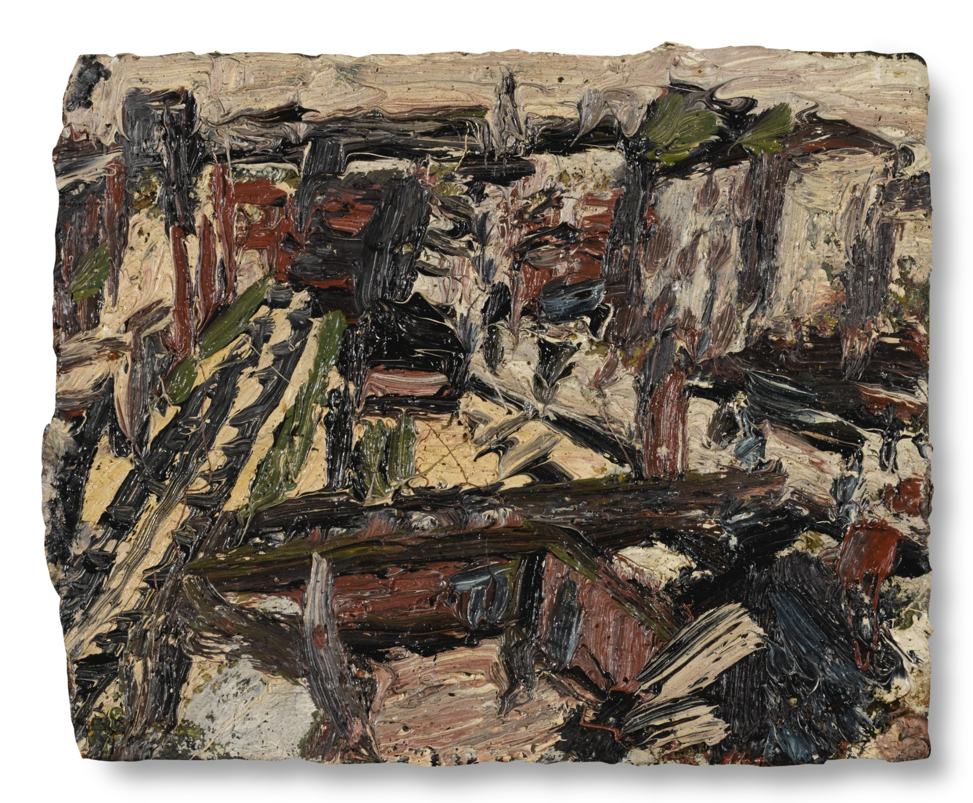 Leon Kossoff-Dalston Junction No.3 June 1973-1973