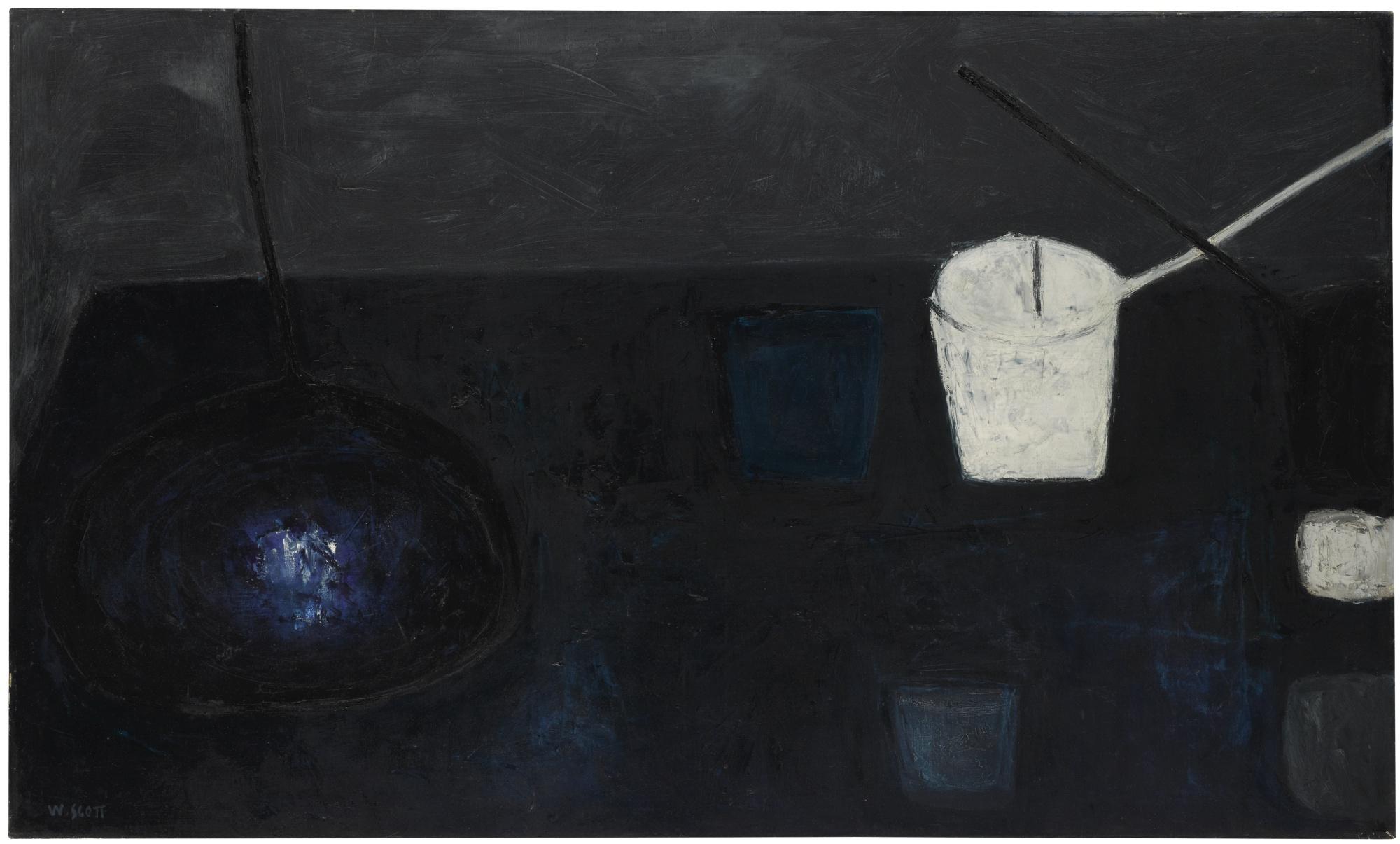 William Scott-Winter Still Life No.2-1956