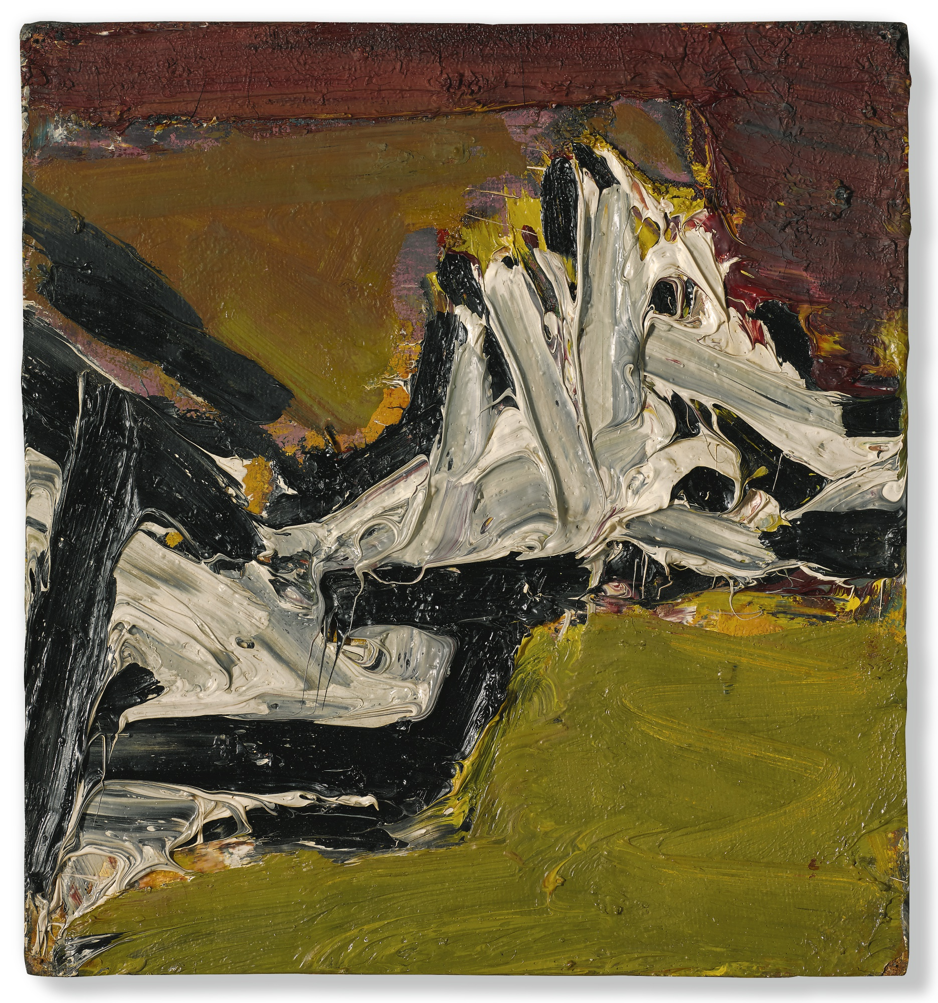 Frank Auerbach-E.O.W'S Reclining Head-1969