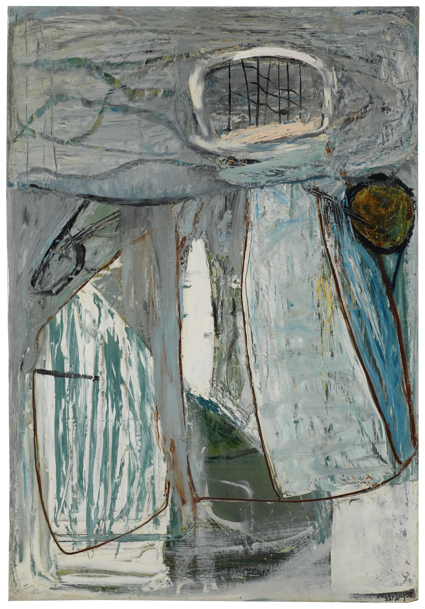 Peter Lanyon-Inshore Fishing-1953