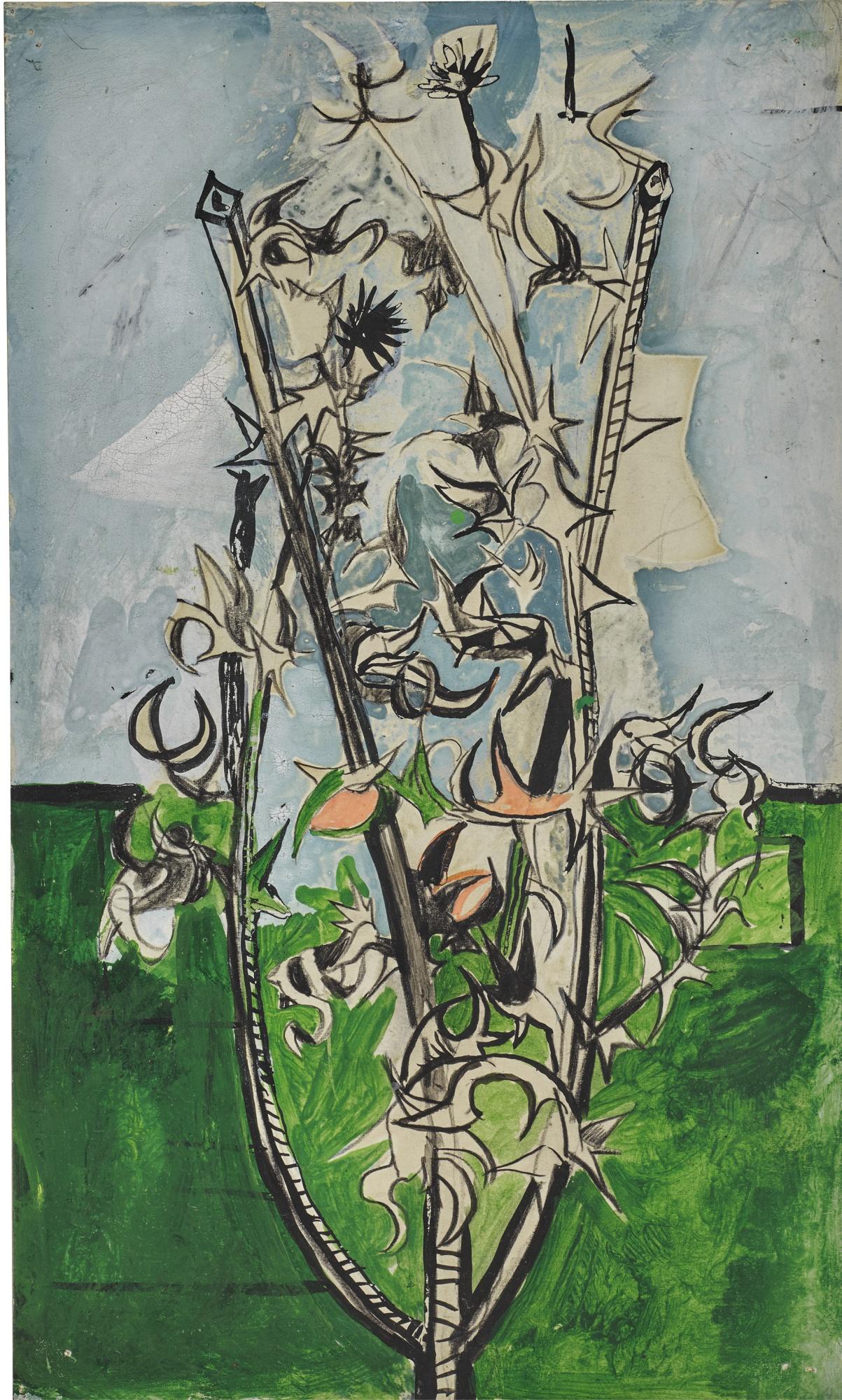 Graham Sutherland-Thorn Bush-1948