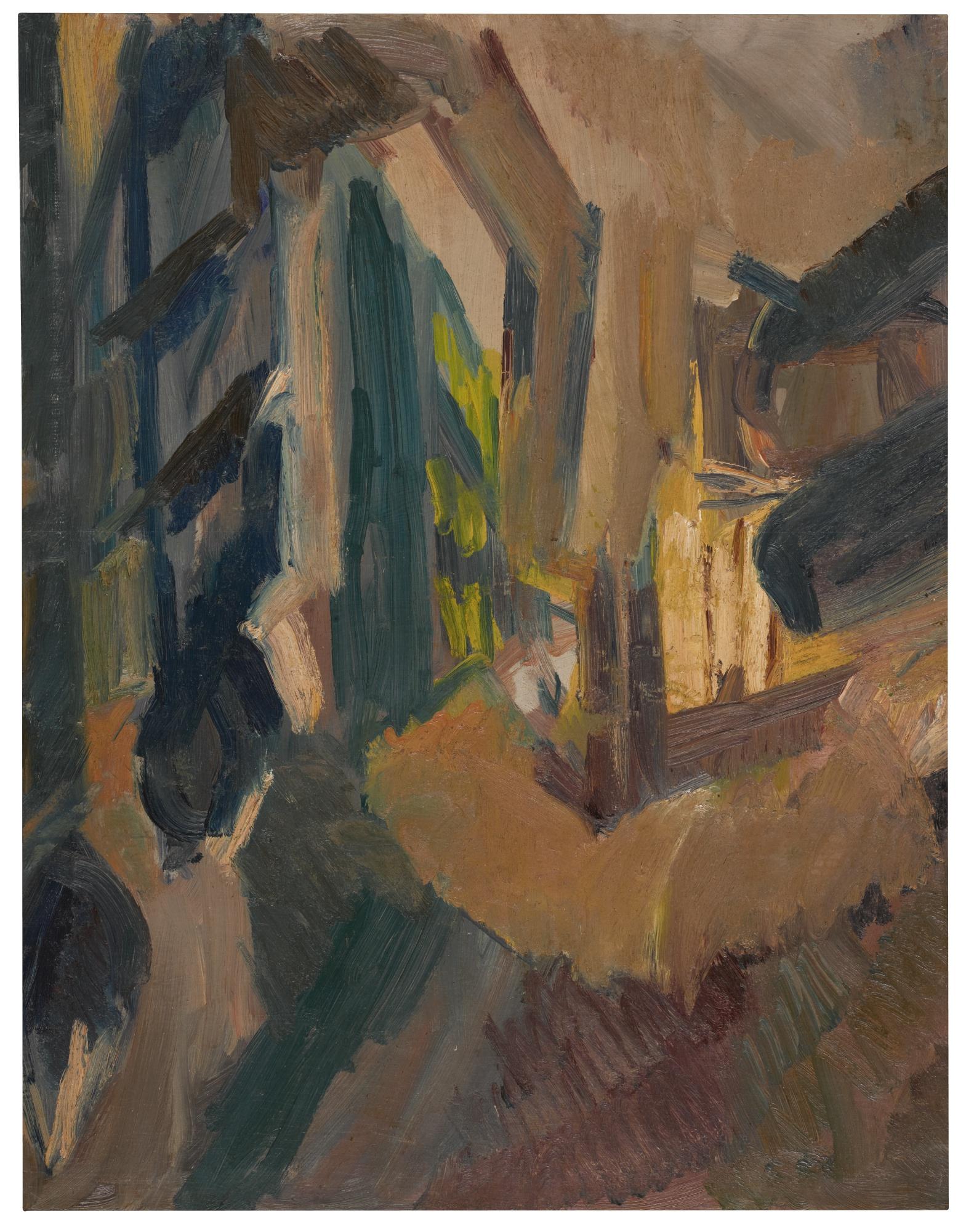 David Bomberg-Plazuela De La Paz Ronda-1935