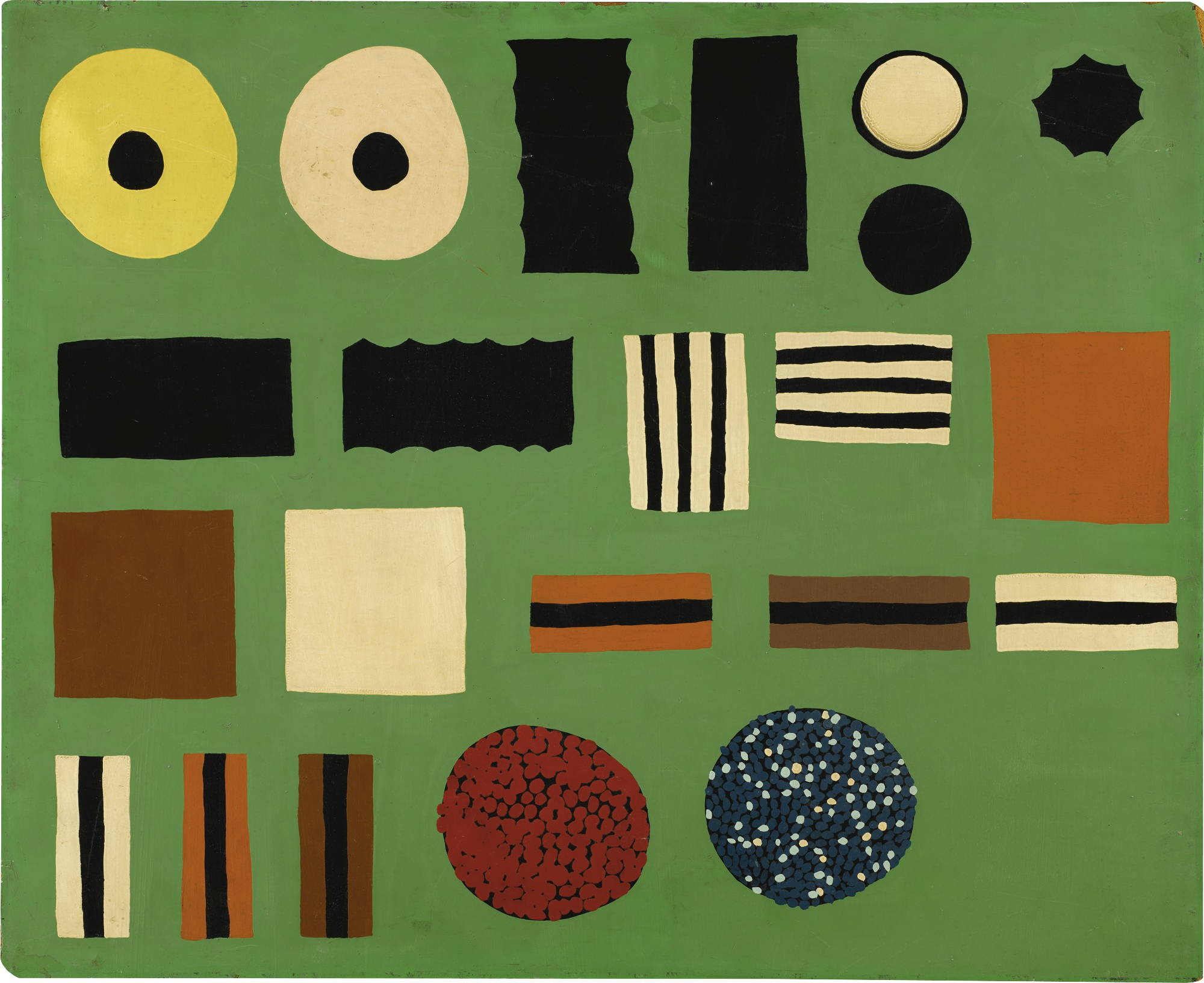 Patrick Hughes-Liquorice Allsorts-1960