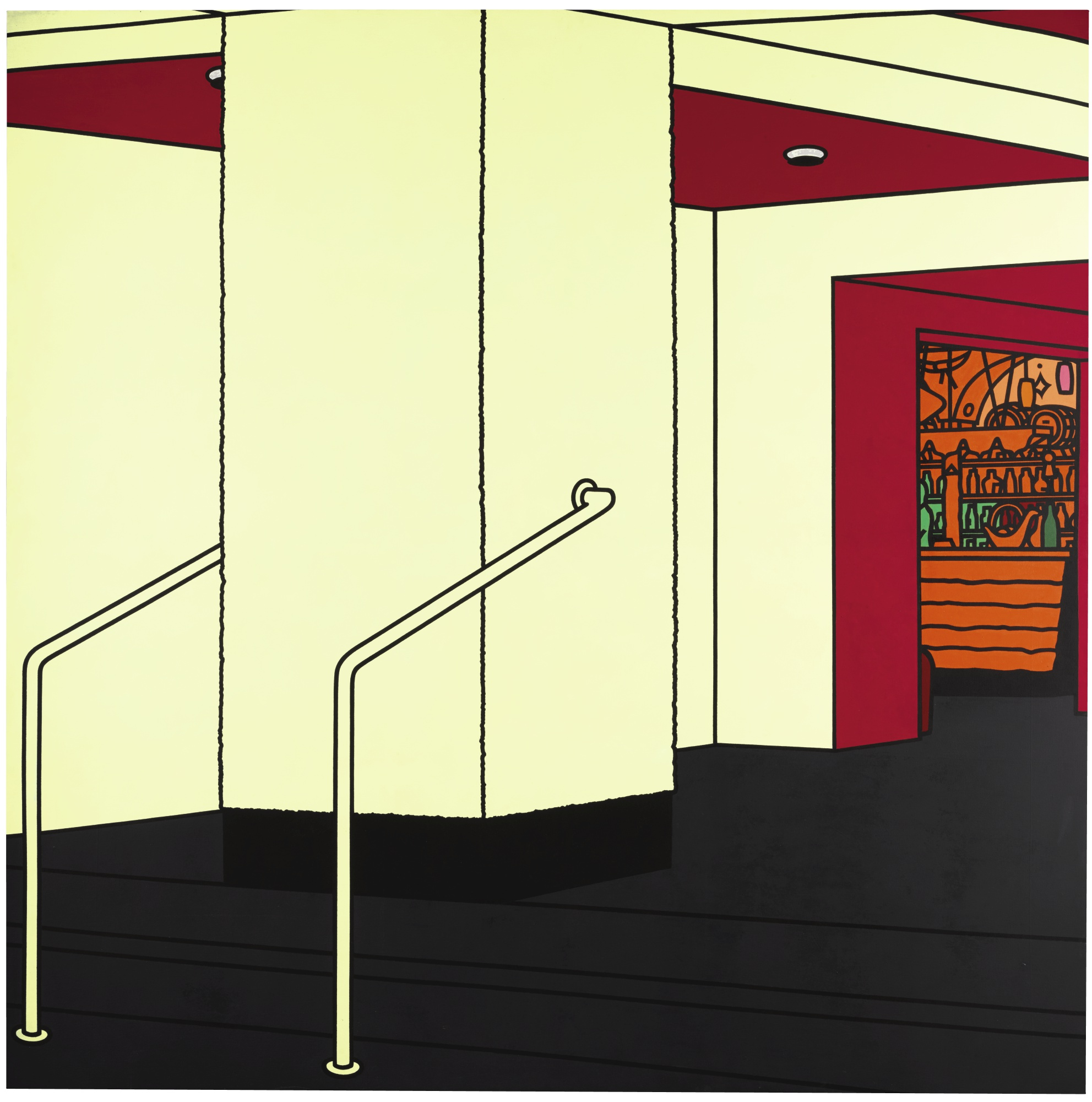 Patrick Caulfield-Foyer-1973