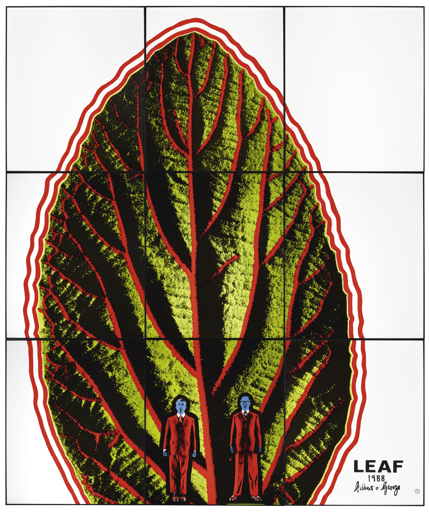 Gilbert and George-Leaf-1988