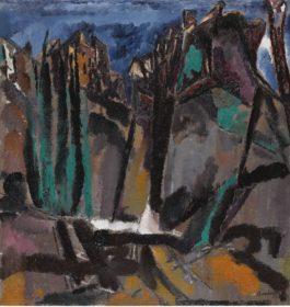 David Bomberg-Moorish Ronda Andalucia-1935