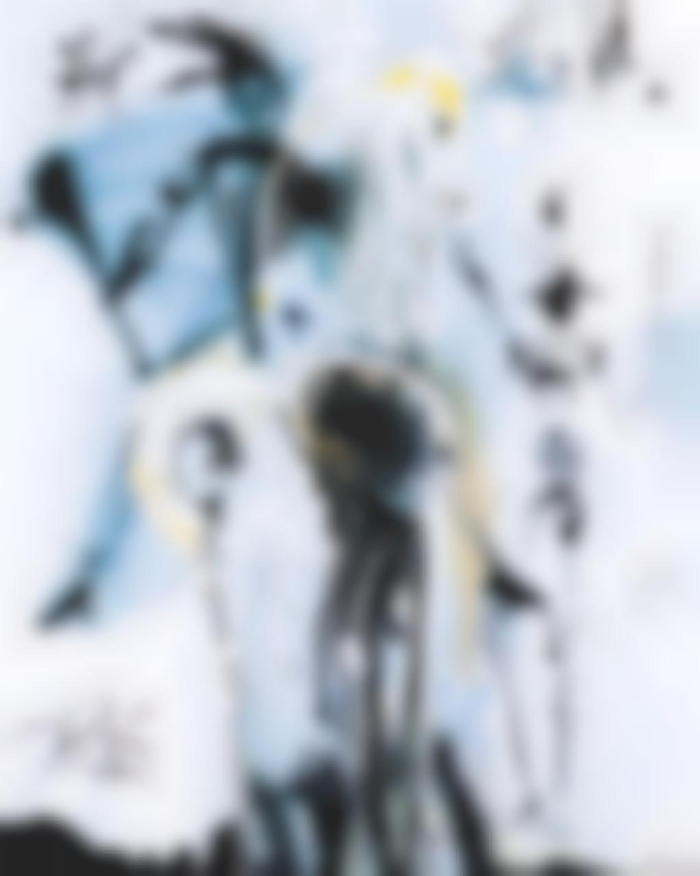 Salvador Dali-Don Quichotte-