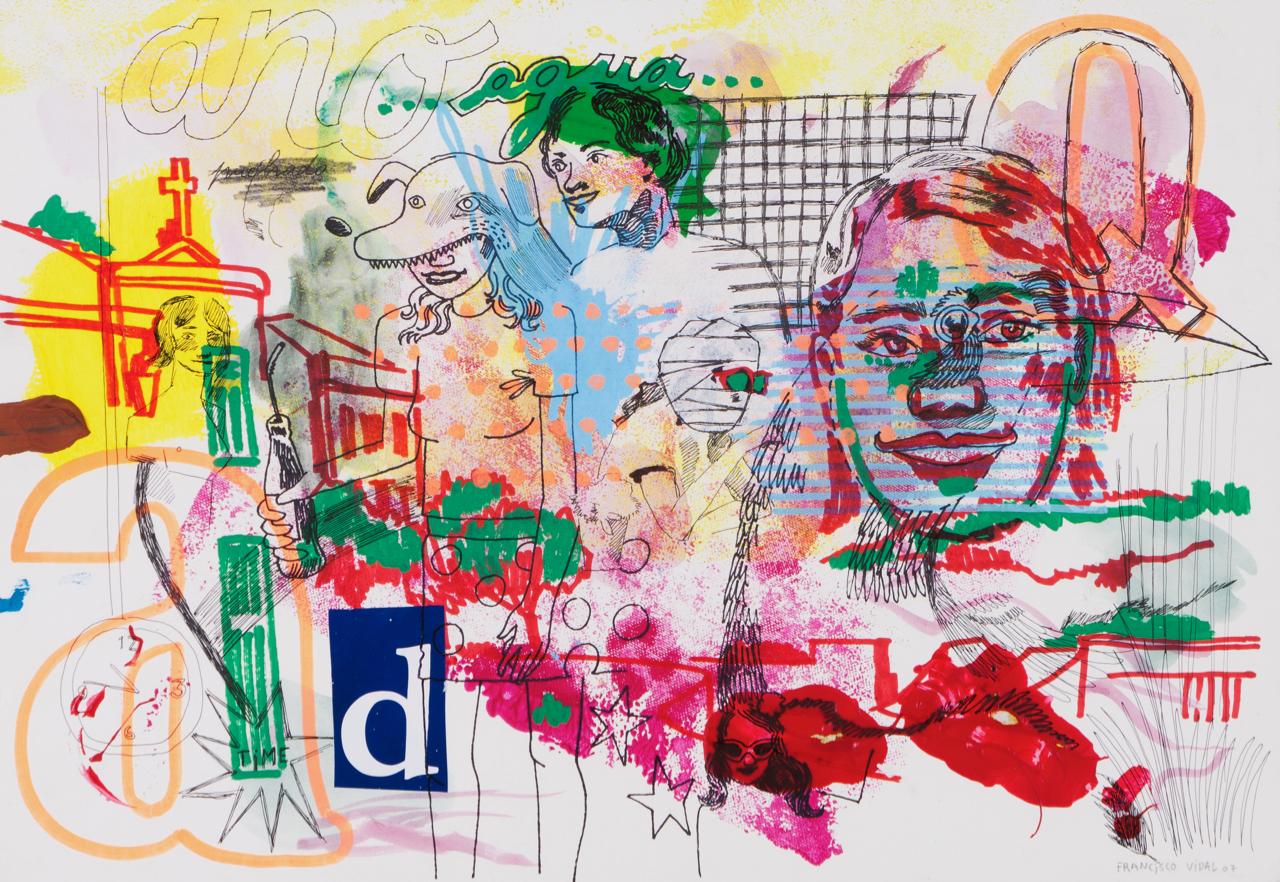 Francisco Vidal-Um quarto para o meio dia-2007
