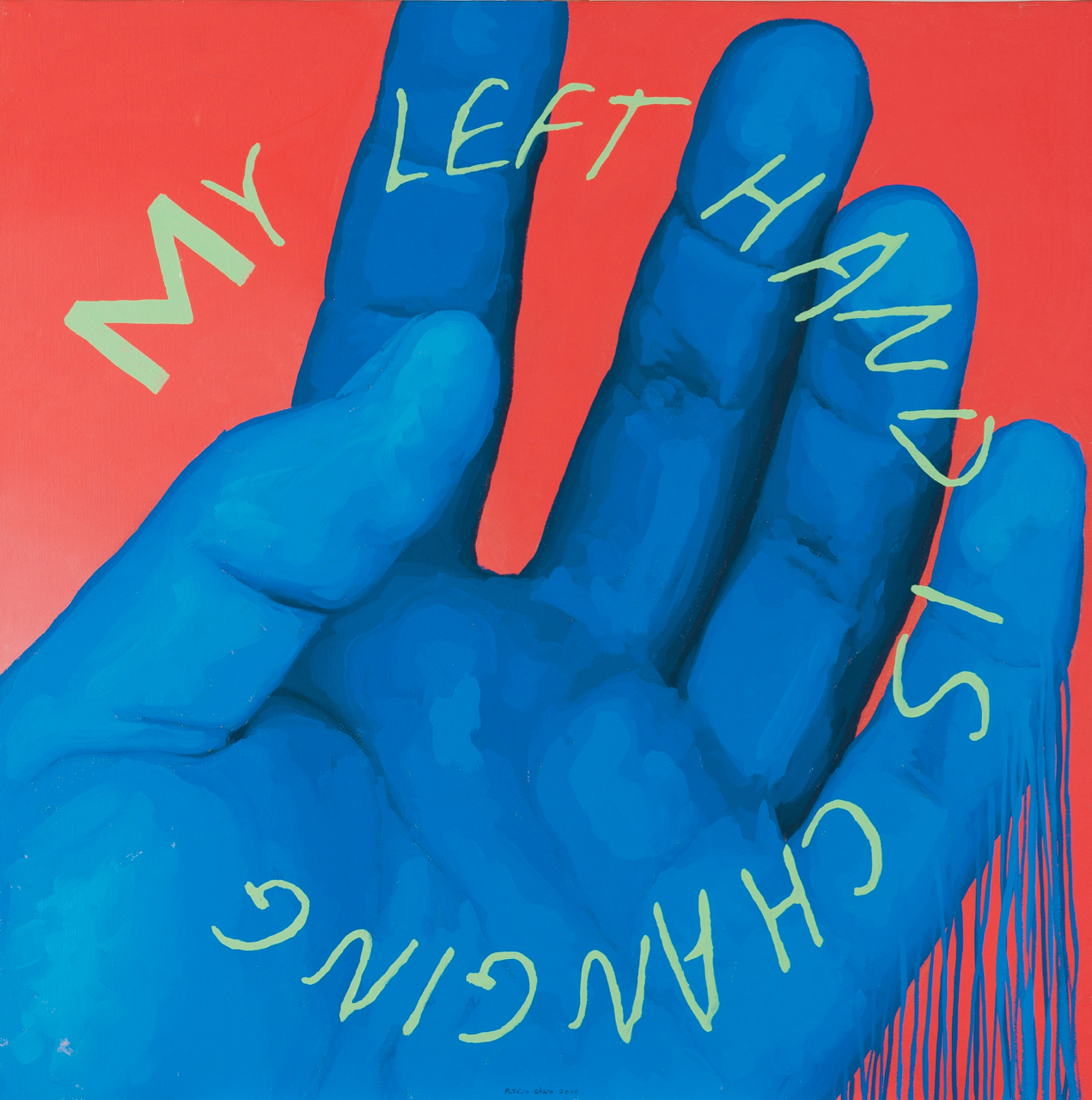 Antonio Olaio-My Left Hand is Changing-2000
