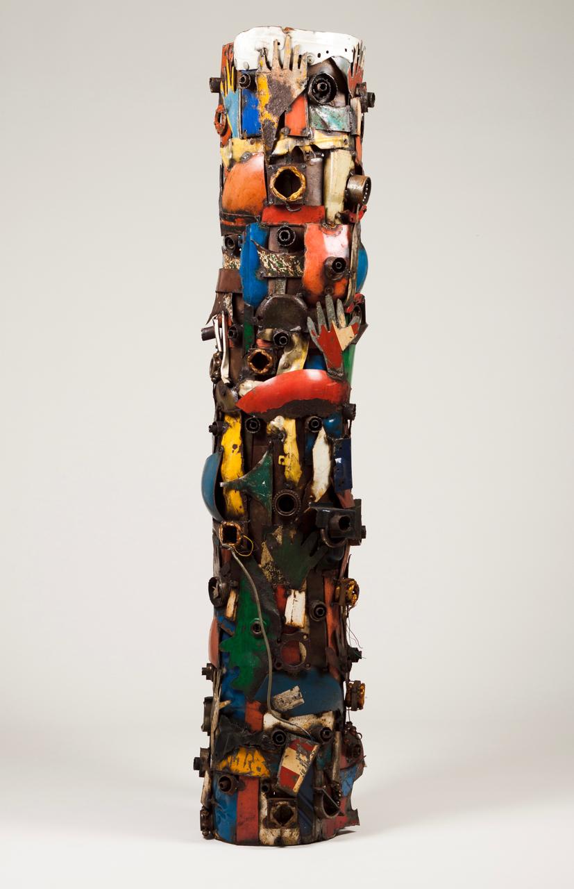 Goncalo Mabunda-Untitled (Totem)-