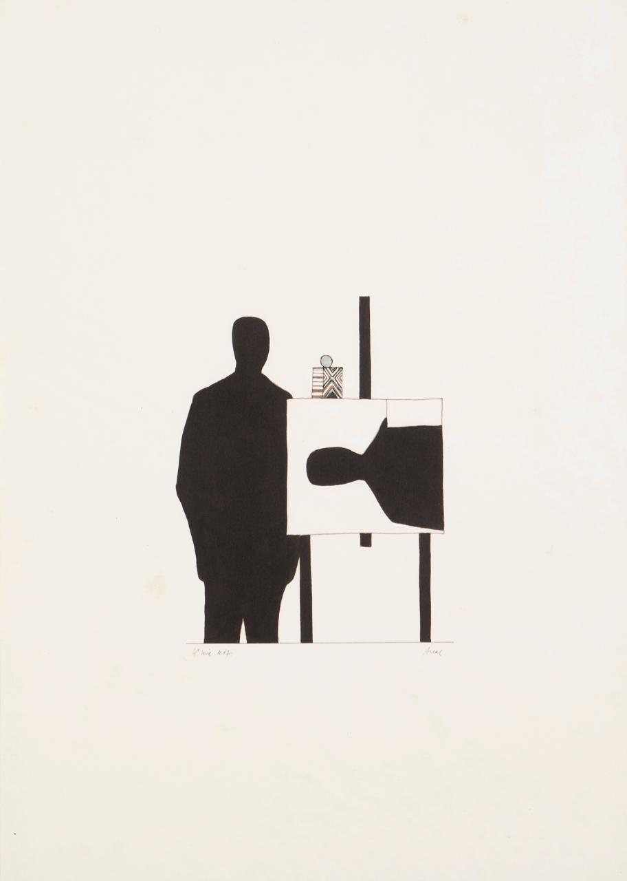 Antonio Areal-Untitled (4ª serie no. 67)-