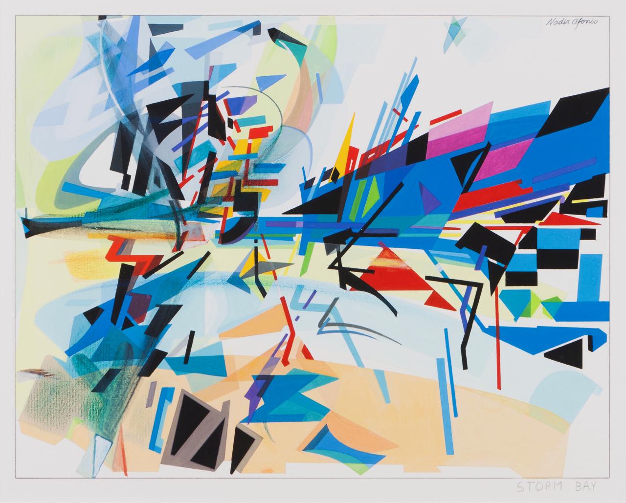 Nadir Afonso-Storm Bay-