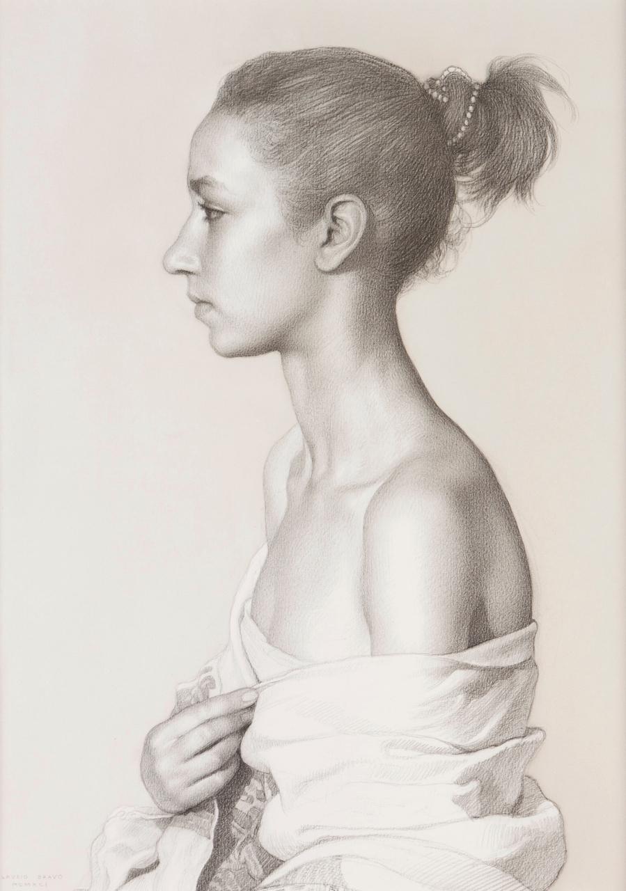 Claudio Bravo-Moroccan girl-1991