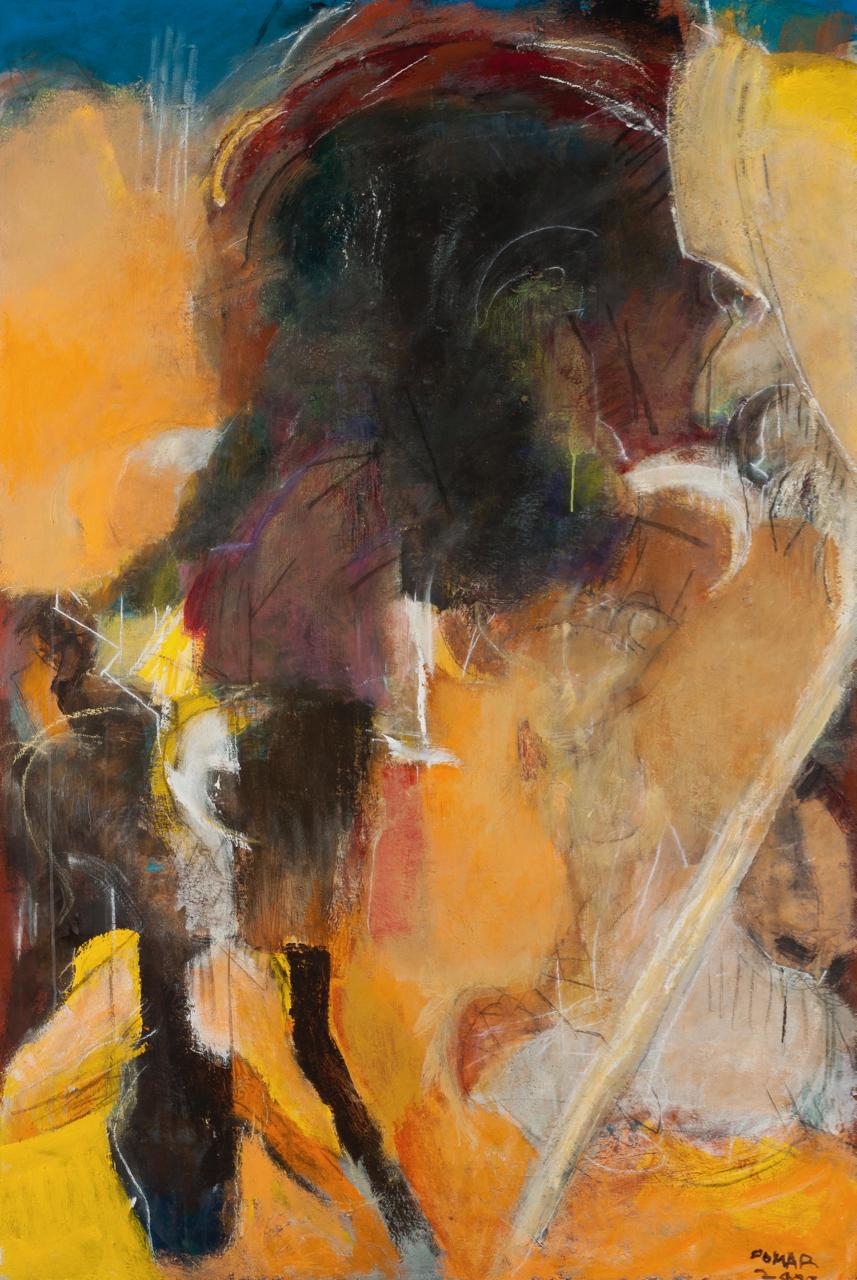 Julio Pomar-Un panier de cornes-2009