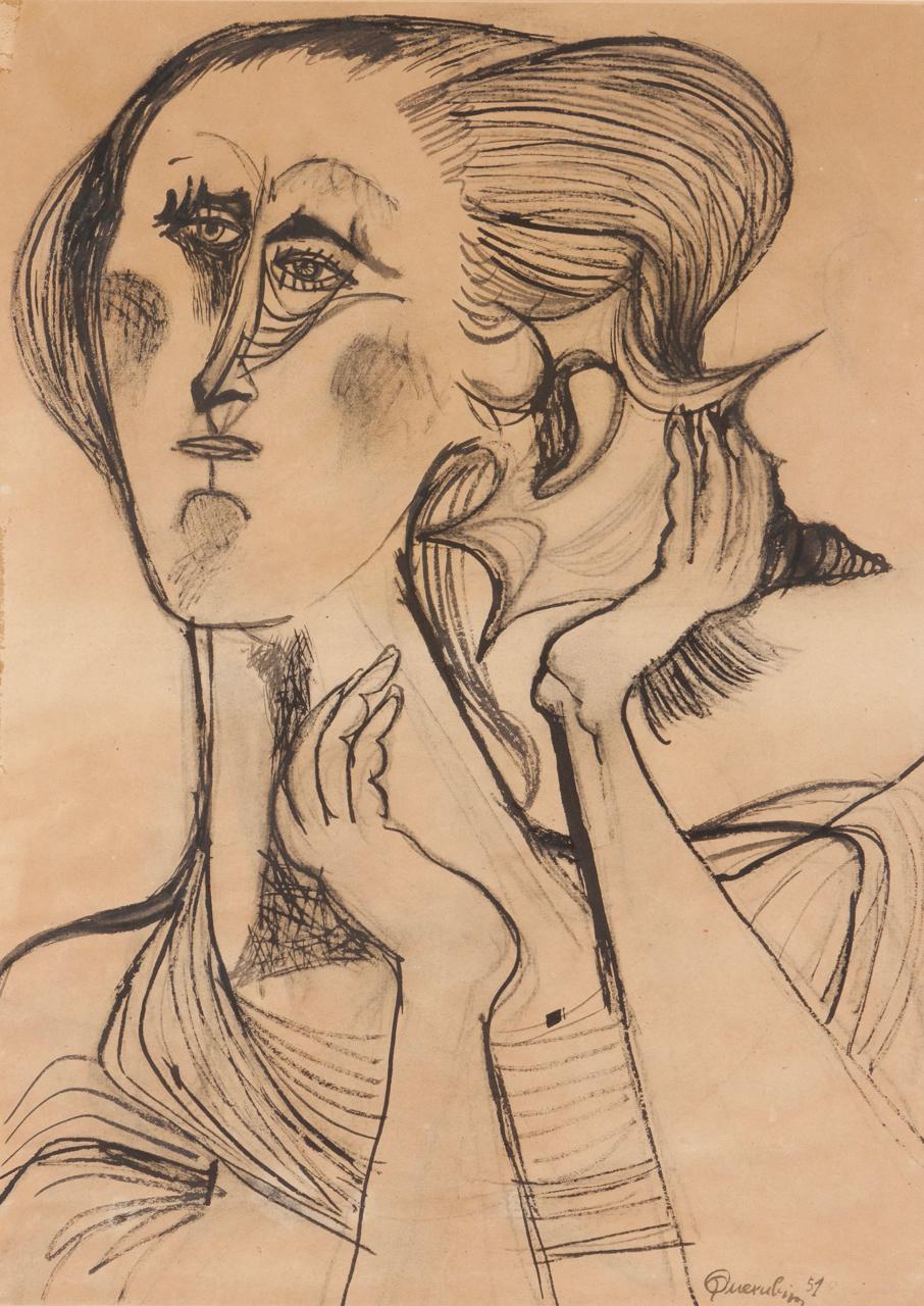 Querubim Lapa-Feminine Figure-1951