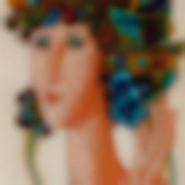 Querubim Lapa-Feminine Figure