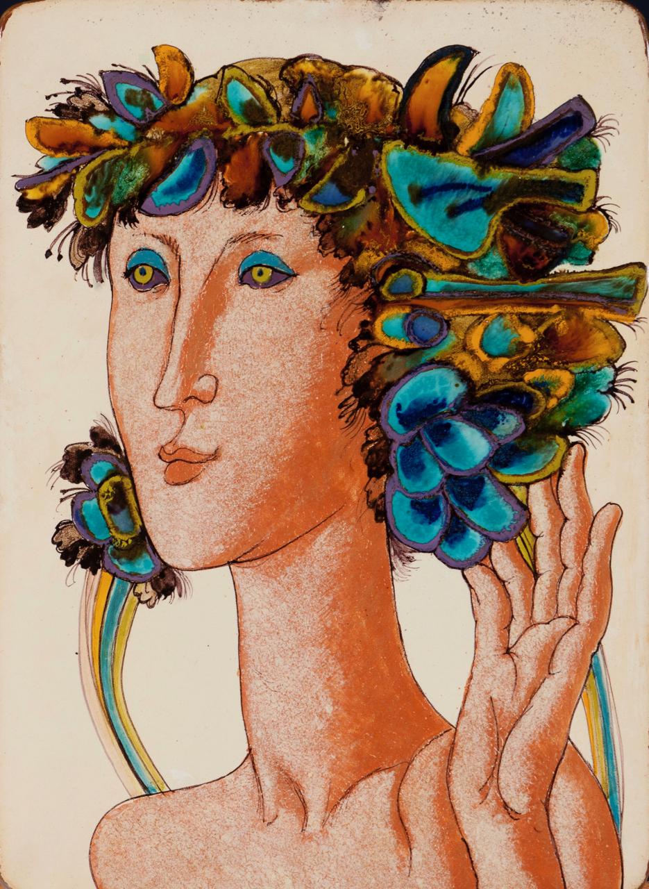 Querubim Lapa-Feminine Figure-