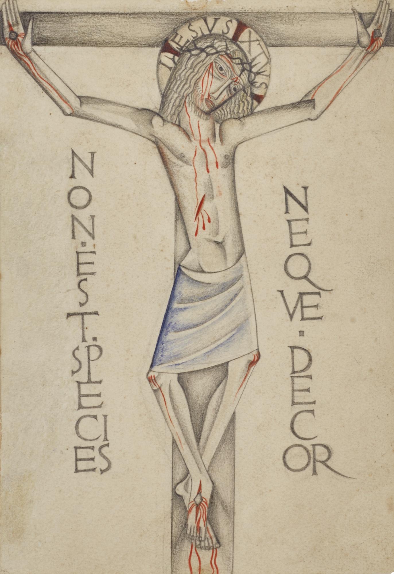 David Jones-Crucifixion-1922