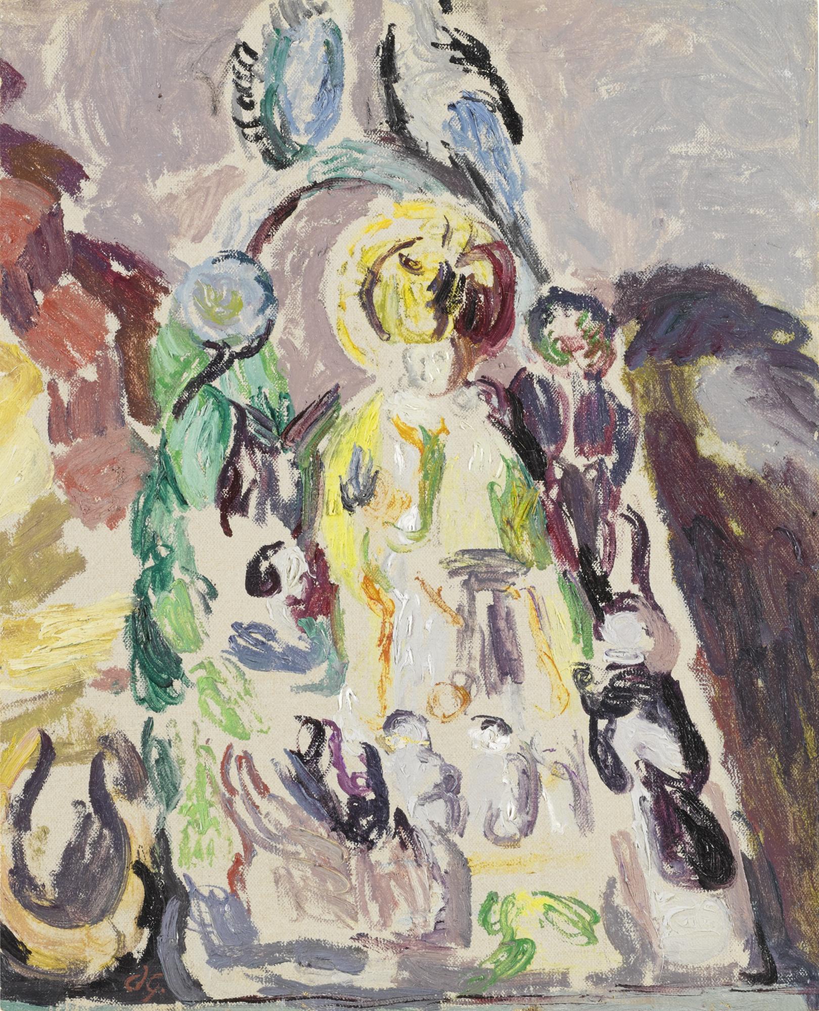 Duncan Grant-A Staffordshire Figure-1930