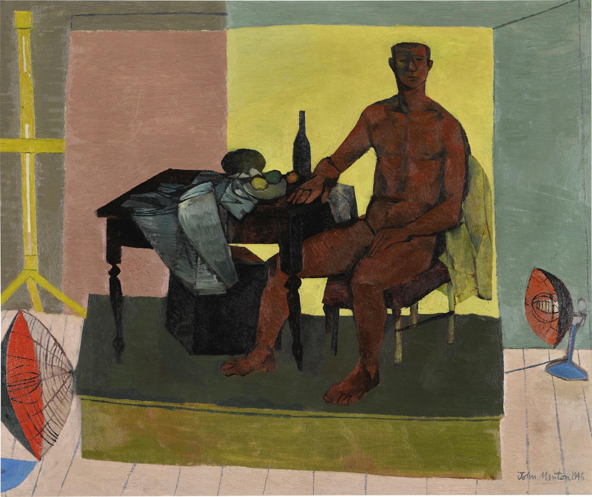 John Minton-The Life Model-1948