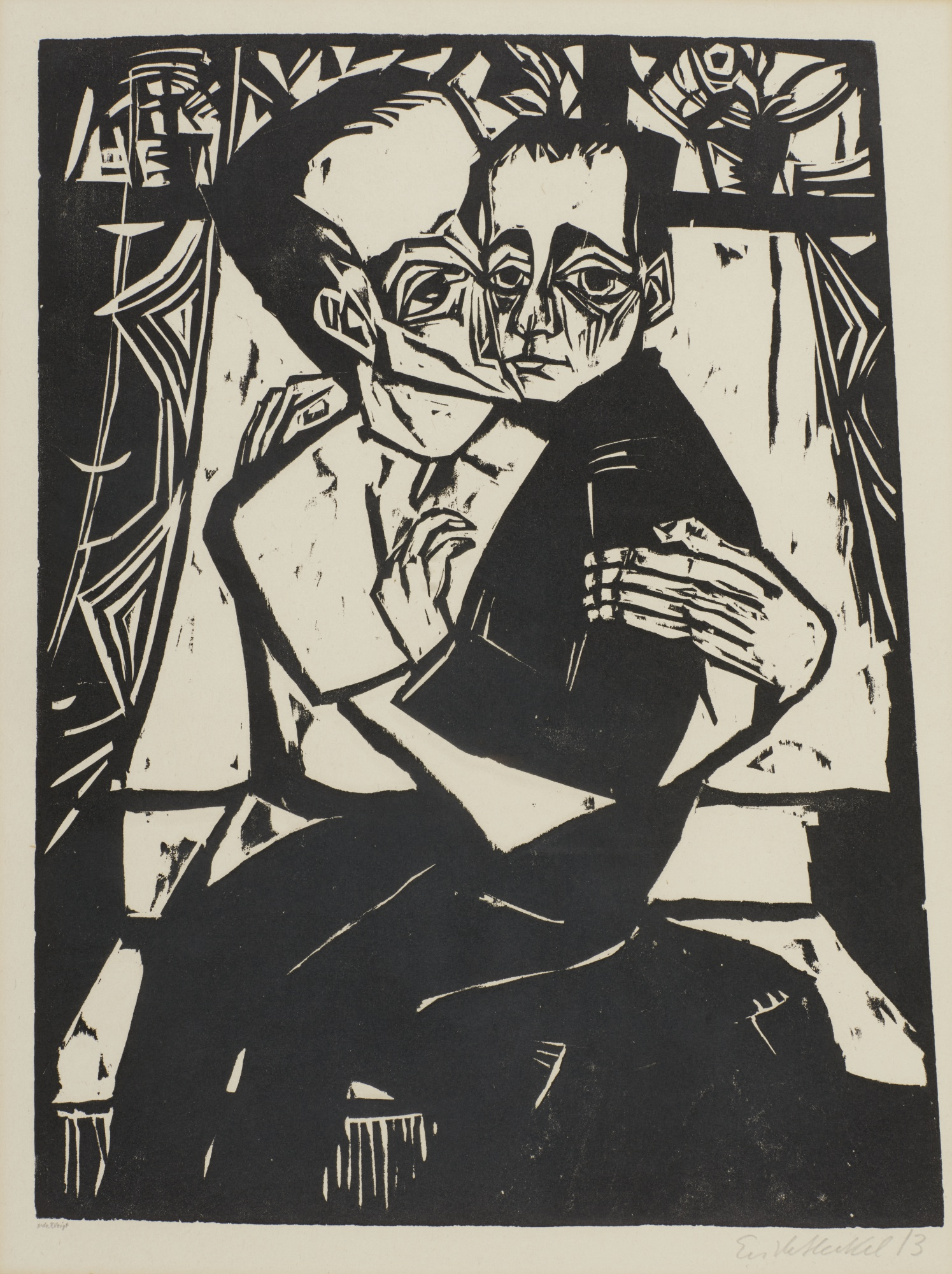 Erich Heckel-Geschwister-1913