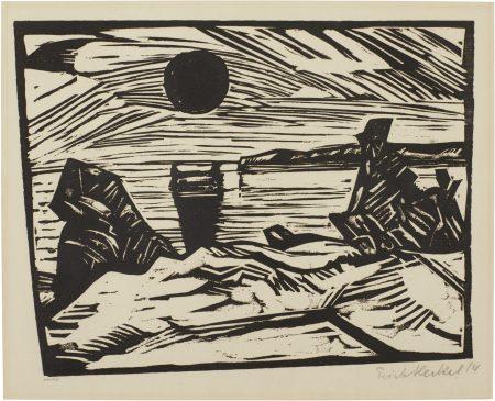 Erich Heckel-Jungling-1917